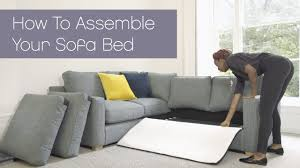 sofas by you from harveys how to assemble your fold out sofa bed harveys youtube