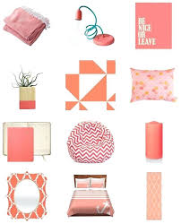 home interior accessories coral home accents color of the week coral pink coral pink