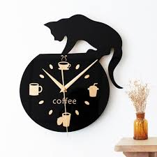 wholesale home decor cartoon lovely black cat fashion design