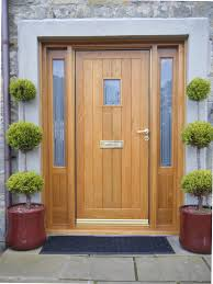 Front Porch Topiary Dictate Your House Style With Fascinating Exterior Wood Door
