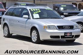2001 audi quattro 2001 audi a6 awd 2 8 avant quattro 4dr wagon in banning ca auto