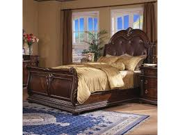 Sleigh Bed With Drawers Davis Direct Coventry Traditional King Sleigh Bed With Button