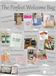 welcome bags for weddings how to create the welcome bags for out of town guests