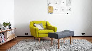 Wohnzimmer Hocker Gepolsterter Sitzhocker Skandinavisches Design