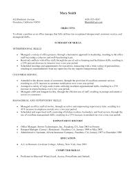 Examples Of Military Resumes by Ma Resume Examples