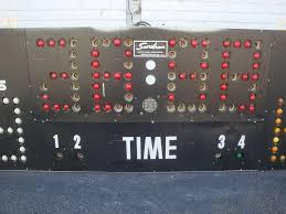 retired high gym basketball scoreboard omero home