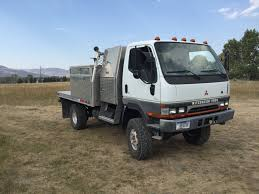 mitsubishi fuso 4x4 price sold 2004 fuso fg w e c wheels atw suspension flatbed 74k miles