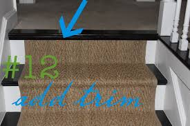 how to seagrass stair runner shine your light