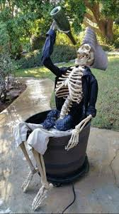Halloween Skeleton Decoration Ideas 56 Best Halloween Skeletons Images On Pinterest Halloween