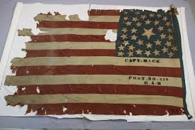 American Battle Flag Historic Flags And Banners Spicer Art Conservation