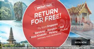 airasia bandung singapore air asia pay to go return for free promo travel up to 31 aug 17