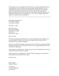 Block Style Format Letter by Block Letters Template Template Design