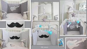 chambre bébé gris et turquoise chambre chambre bebe gris blanc bleu elfe couture creations sur