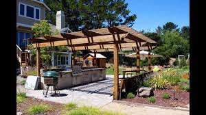 Outdoor Kitchen Ideas Pictures Outdoor Kitchen Ideas On A Budget Youtube