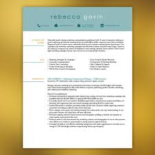 Resume Template For Pages Resume Template Instant Download 4 Pages Marketing