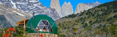 pacific domes eco resort dome houses at ecocamp patagonia