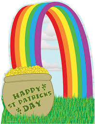 pot of gold with rainbow saint patrick u0027s day 803