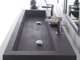 overstock faucets kitchen bathroom trough sink bathroom 18 double trough sink trough sink