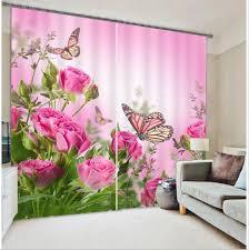 Cheap Fabric Curtains Barato Foto Imprimir 3d Estereoscópico Cortinas Terri Impresso