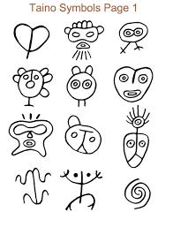 taino symbols book tattoo ideas