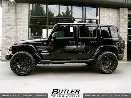 jeep rims black jeep wrangler with 20in black rhino mojave wheels addition flickr