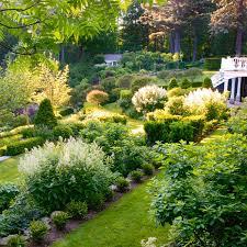 beautiful gardens traditional home