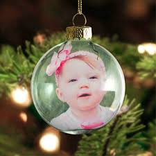 personalized photo printed ornaments