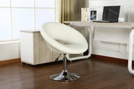 Marilyn Monroe Furniture by Roundhill Furniture Contemporary Chrome Adjustable Swivel Chair