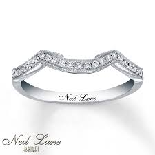 Neil Lane Wedding Rings by Kay Neil Lane Wedding Band 1 8 Ct Tw Diamonds 14k White Gold