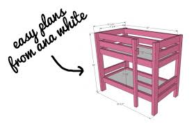 Doll Bunk Beds Plans Handmade Doll Bunk Beds