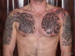 tiger snake chestpiece tattooshunt com