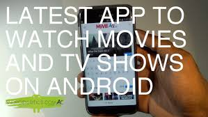 android app to movie4u android app app to and tv shows on