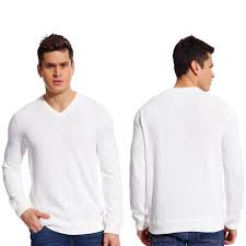 copperside mens 100 cotton v neck sweater ebay