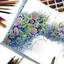 coloring inspiration The Secret Garden  Coloring  Pinterest