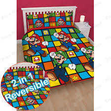 Childrens Bedroom Bedding Sets Official Nintendo Super Mario Brothers Bedding Duvet Cover Sets