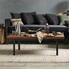 west elm wood coffee table industrial coffee table west elm nrhcares com
