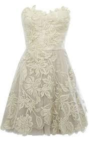bridal style ask boho a knee length lace wedding dress for a