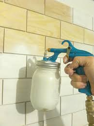 faux subway tile tutorial critter sprayer idolza