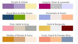 how to choose wedding colors trending wedding colours for 2016 gps decors