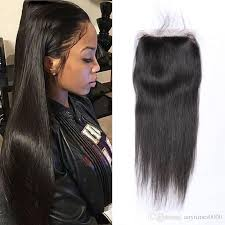 short hairstyles with closures brazilian hair 4 4inch lace frontal human hair closure straight