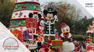 disney u0027s christmas parade 2017 at disneyland paris youtube