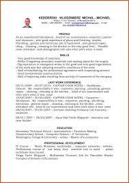 basic sle resume format handyman resume moa format sles sle resume for pa sevte