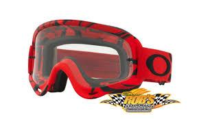 motocross goggles ebay red black clear oakley o frame intimidator mx goggles dirt bike