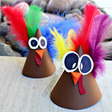 turkey cone craft for to make hat idea crafty morning