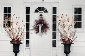 Fascinating Front Door Decorations For Winter 79 Decor