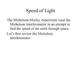 What Is The Speed Of Light Speed Of Light How Fast Is The Speed Of Light U2013depends On