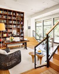 Home Library Design Ideas With Stunning Visual Effect - Home office library design ideas