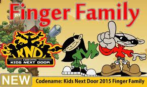 codename kids door 2015 finger family nursery rhyme