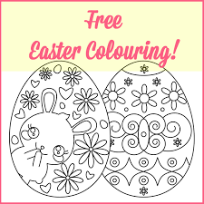easter colouring freebies grade onederful