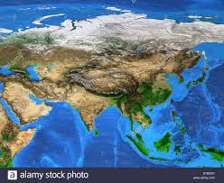 Asia Map Labeled by Asia Pacific Map Stock Photos U0026 Asia Pacific Map Stock Images Alamy